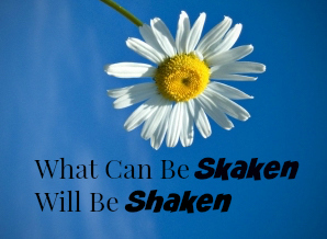 What Can Be Shaken Will Be Shaken.